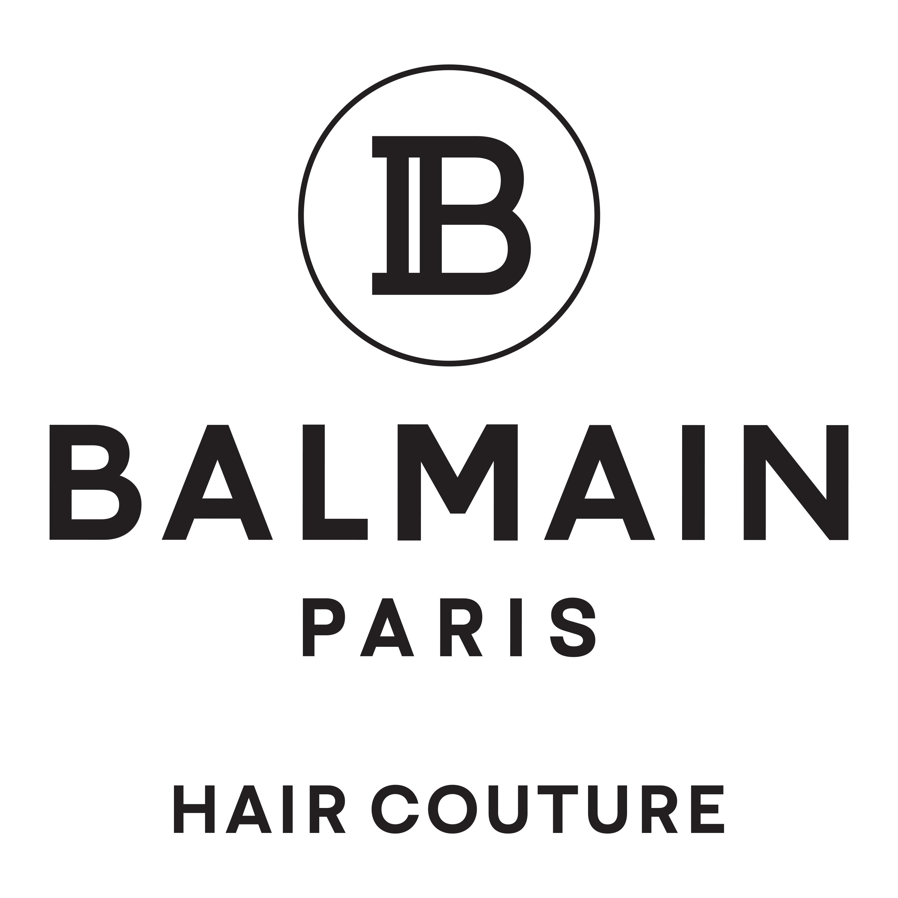 BALMAIN PARIS HAIR COUTURE